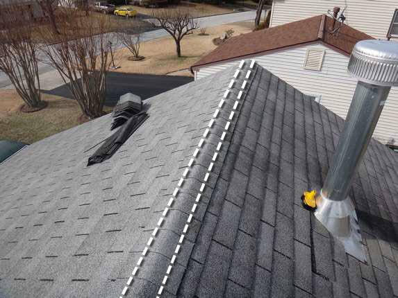 Roof Ventilation Installation : Roof repair bowie attic ventilation edge vent