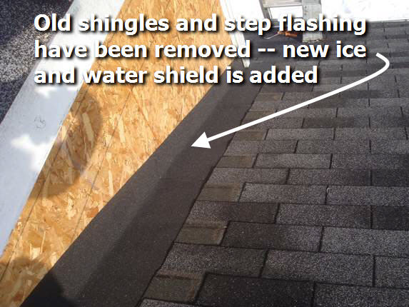 Ice And Water Shield Roof Repair Ellicott City, Maryland