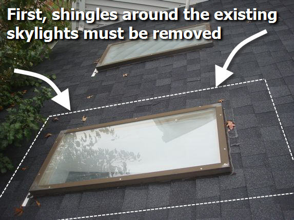 Md Skylight Replace Md Skylight Repair