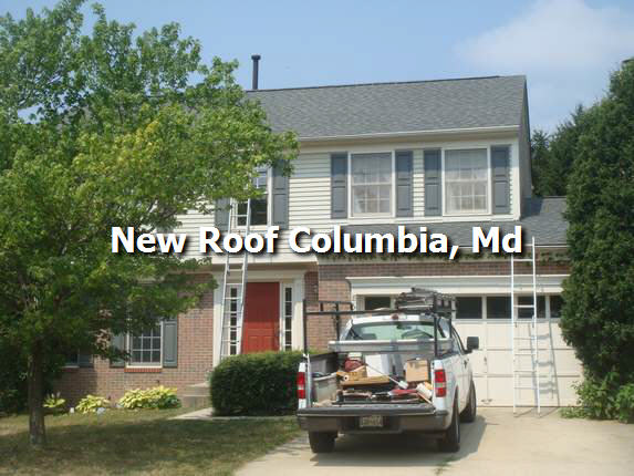 New Roof Columbia Md