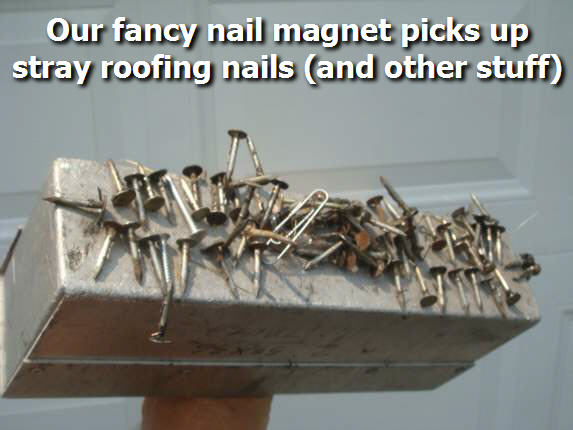 Roof Nail Magnet
