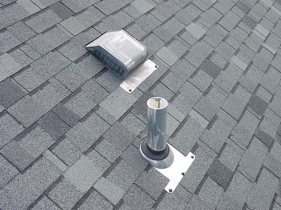 Pipe Collar And Bathroom Vent Cover (flashing). Roof Satellite Dish