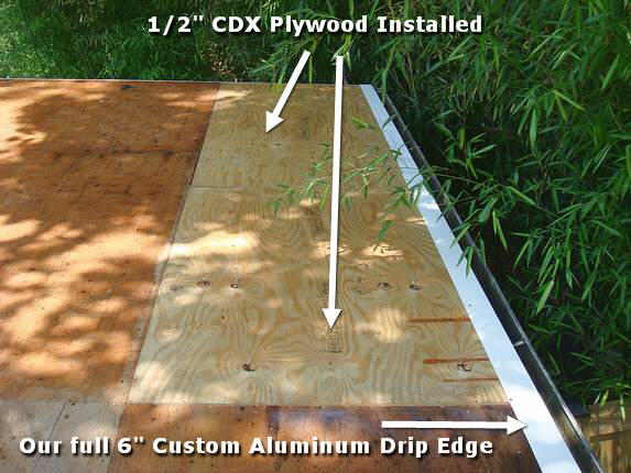 cost of plywood for roofing