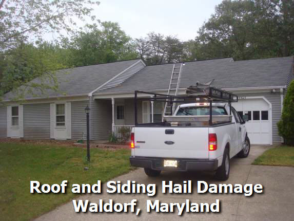 Waldorf Md Roof Hail Damage