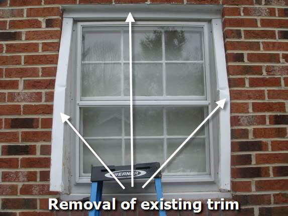 Vinyl windows replacing wood windows with vinyl for Installing vinyl replacement windows