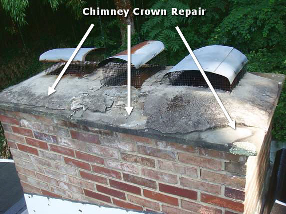 Md Chimney Crown Repair
