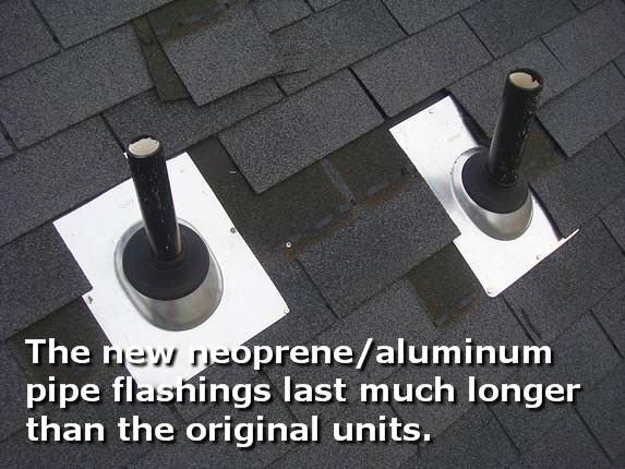 Two new aluminum / neoprene pipe collars