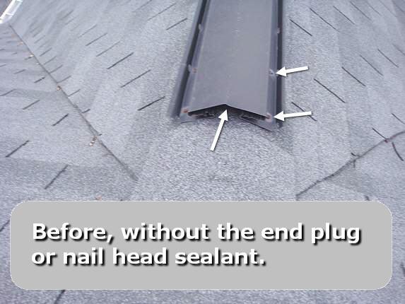 Metal ridge vent