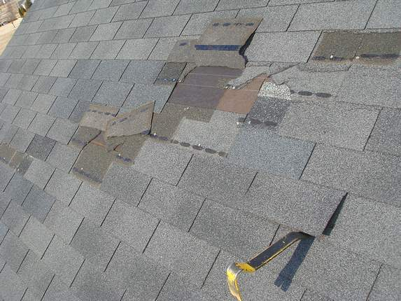 Md roof torn off