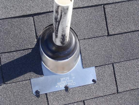 roof leak #2 fixed