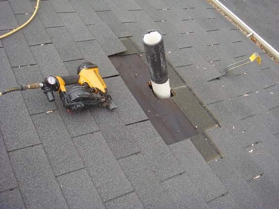 Roof nail gun