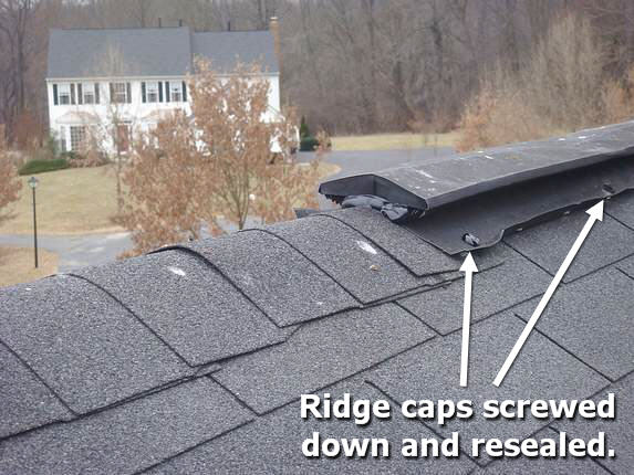 Roof leaks eliminated