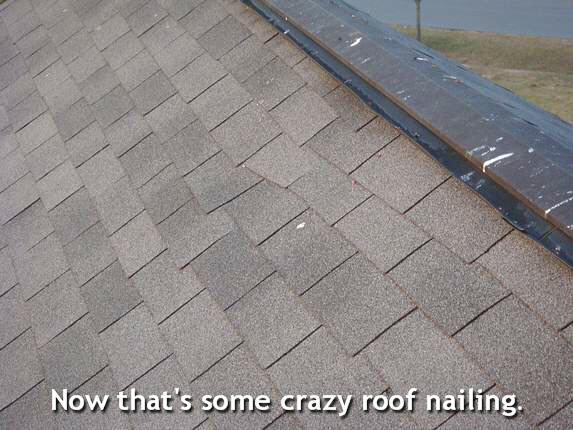 bad md roof job
