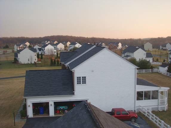 Hoover Farm Rooftop View