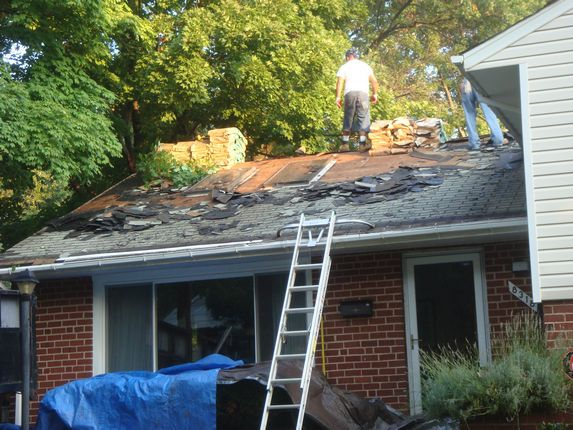 Roof shingle removal