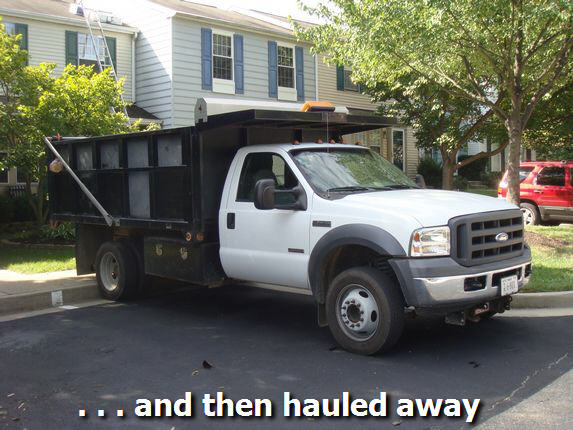 Roofing Dump Truck