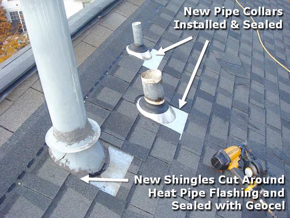 New Pipe Collars installed in Md