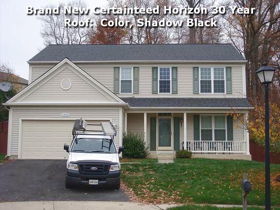 New Certainteed Horizon Roof in Upper Marlboro Maryland