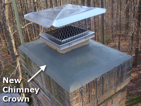 New Chimney Crown