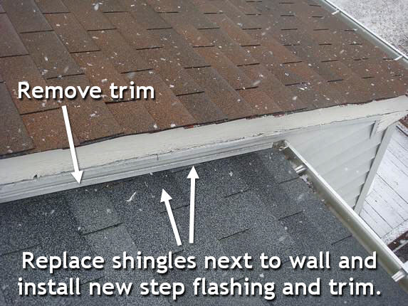 Remove siding trim
