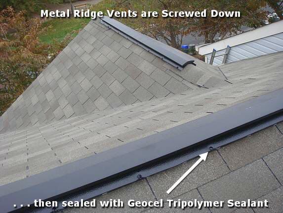 Metal Ridge Vents