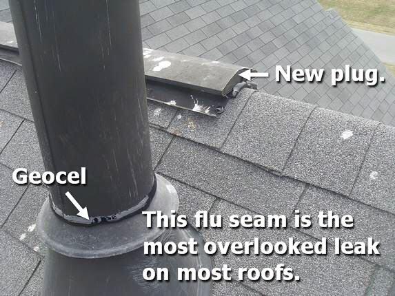 Geocel Sealant permanent leak protection