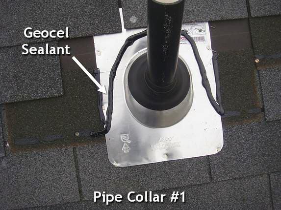 New aluminum pipe collar