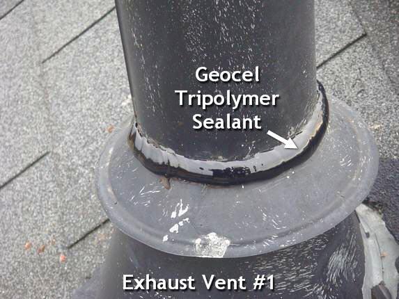 Roof Diverter flange seal