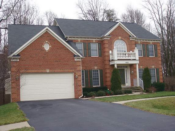 Picture of successful Maryland roof repair