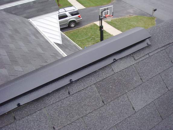 Metal Roof Vented Ridge Cap Images