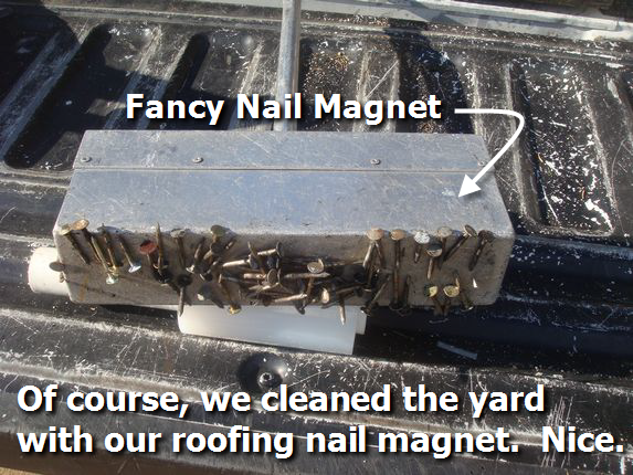 Picture of roofing nail magnet