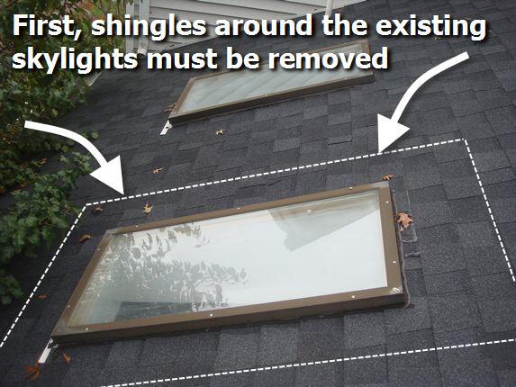 Md Skylight Replace Md Skylight Repair